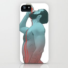 IMMORTAL BLOOD iPhone Case