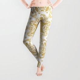 Golden pattern Leggings