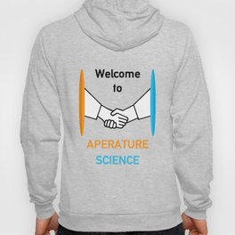 WELCOME TO APERATURE SCIENCE  Hoody