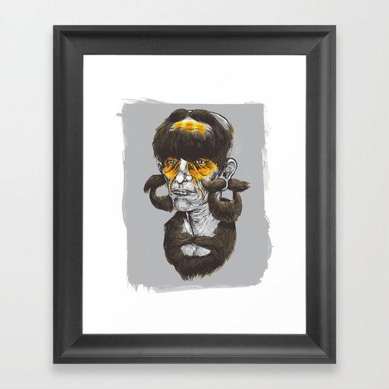Beardhunter Framed Art Print