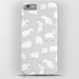 Charity fundraiser - Grey Goats iPhone Case