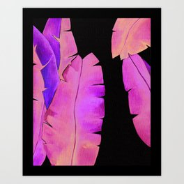 Banana Leaf 1 Art Print