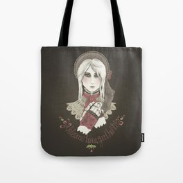 Welcome home good hunter Tote Bag