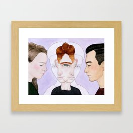Bisexual Invisibility #2 Framed Art Print
