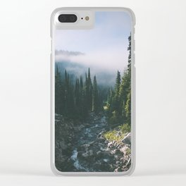 Washington III Clear iPhone Case