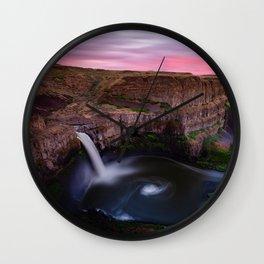 Palouse Falls Wall Clock