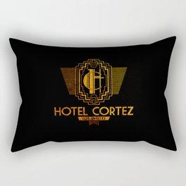 Hotel Cortez / Los Angeles. Rectangular Pillow
