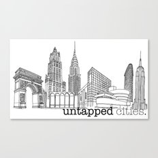 Untapped Cities Canvas Print