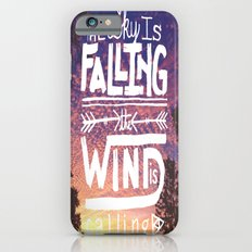 The sky is falling, the wind is calling iPhone 6s Slim Case