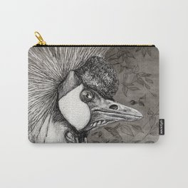 Grey Crowned Crane G023 Carry-All Pouch