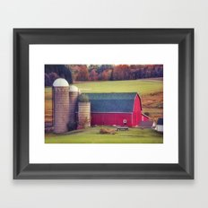 Afternoon in the Country Framed Art Print