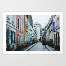 Rue Crémieux Photoshoot Art Print
