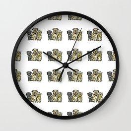 Brussels griffon Wall Clock