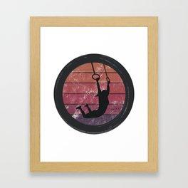 Muscle Up Framed Art Print