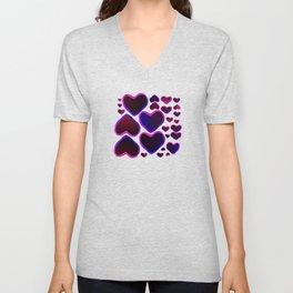 Purple Heart Unisex V-Neck