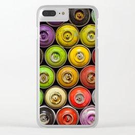 Art Bloc Clear iPhone Case