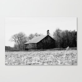 Life is better in the barn Canvas Print