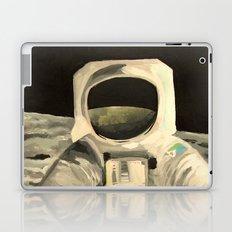 Astronaut on Moon Painting Laptop & iPad Skin