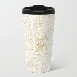 Adelaide Map Gold Travel Mug