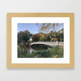 Autumn in New York Framed Art Print