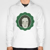 dana scully Hoodies featuring Dana Scully by Kuki