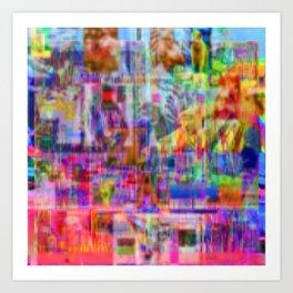 Slipstream Art Print