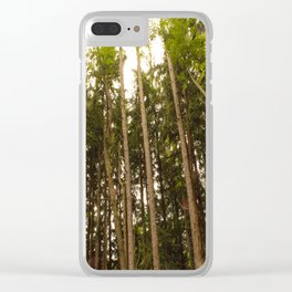The Tall Trees Clear iPhone Case