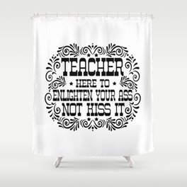 Teacher Shower Curtain