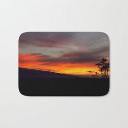 Sunset over Hualalai Bath Mat