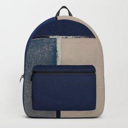 Toned Down Denim Backpack