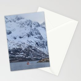 Lone sailor Stationery Cards