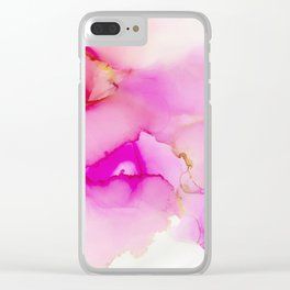 Ink 143 Clear iPhone Case