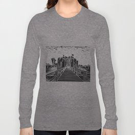 Caerphilly Castle Long Sleeve T-shirt