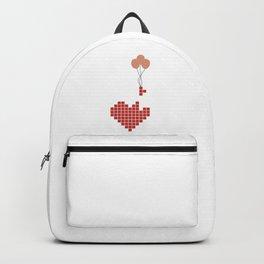 Tetris Heart Backpack