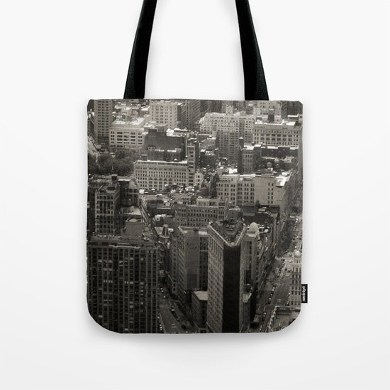 Old Downtown Tote Bag