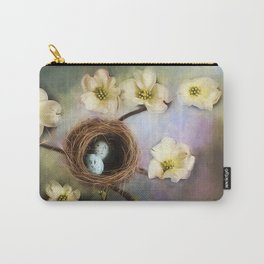 Nesting among the Dogwoods Carry-All Pouch