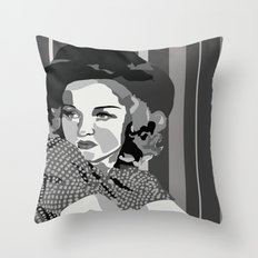 Old Hollywood, Betty Grable Throw Pillow
