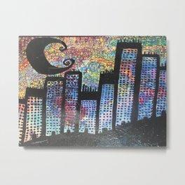 City Never Sleeps Metal Print