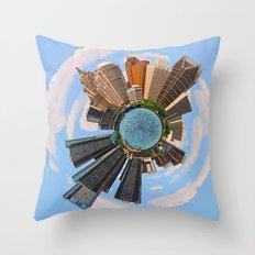 Detroit! Restore! Reconsider! Throw Pillow