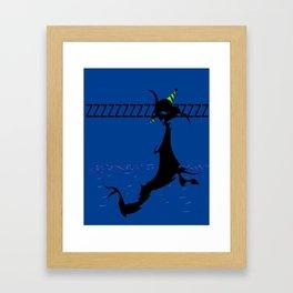pick a card #1 Framed Art Print