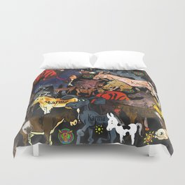When Karma Is All Over Your Ass Duvet Cover