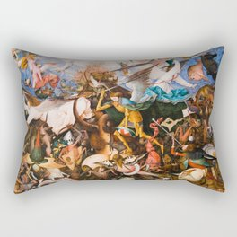 The Fall Of The Rebel Angels 1562 By Pieter Bruegel The Elder Rectangular Pillow