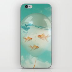 balloon fish 03 iPhone & iPod Skin