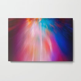 Abstract motion blur background. Metal Print