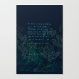 """Conquest of the Useless"" by Werner Herzog Print (v. 4) Canvas Print"