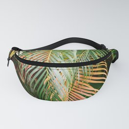 Shades of green and orange | Botanical photography print Fanny Pack