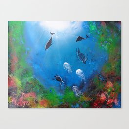 Seaworld Canvas Print