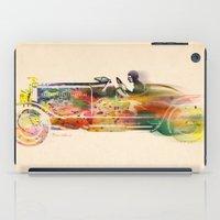 car iPad Cases featuring car  by mark ashkenazi