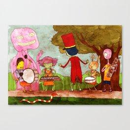 Band Practice Canvas Print