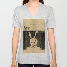 Donnie Darko Minimal Movie Poster Unisex V-Neck